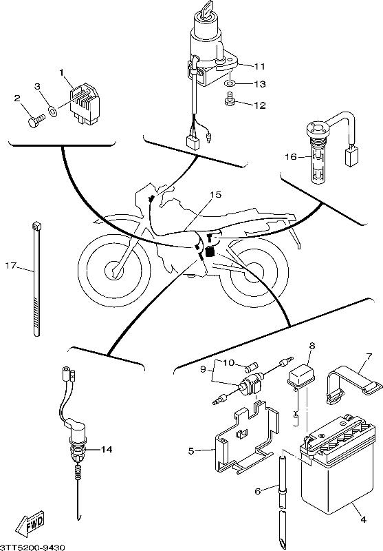 Yamaha Wr250r Wiring Diagram