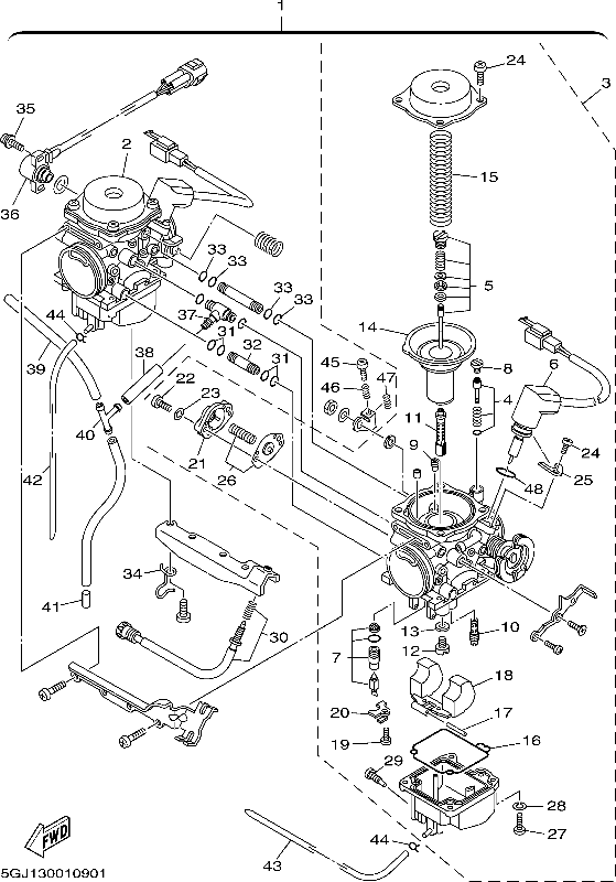 ttr90 carb diagram   Diarra