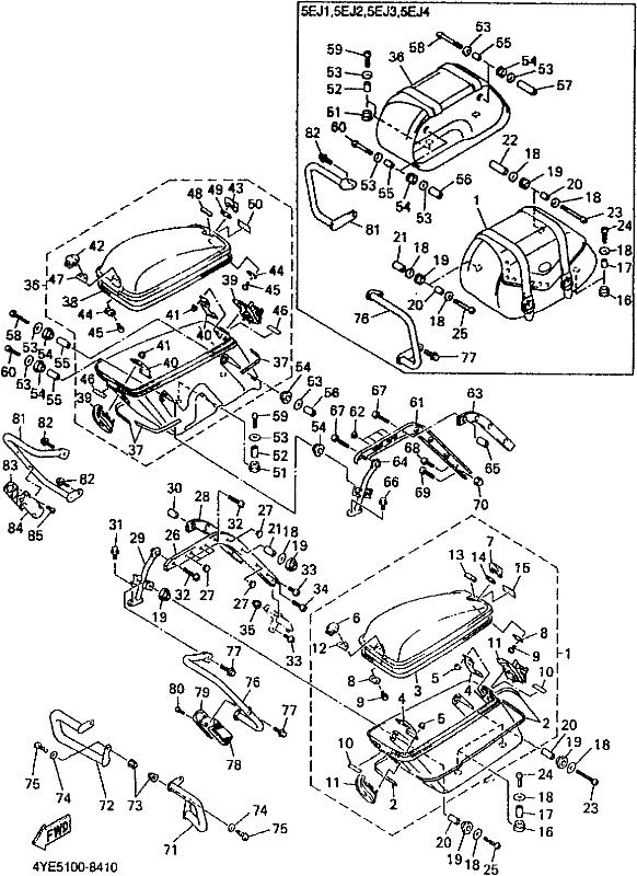 Virago 1100 Diagram