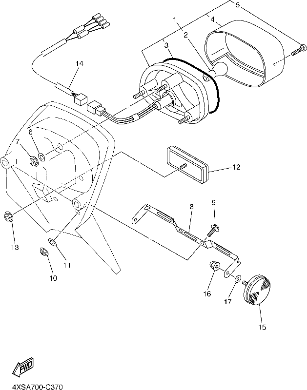 V Star 650 Custom Accessories