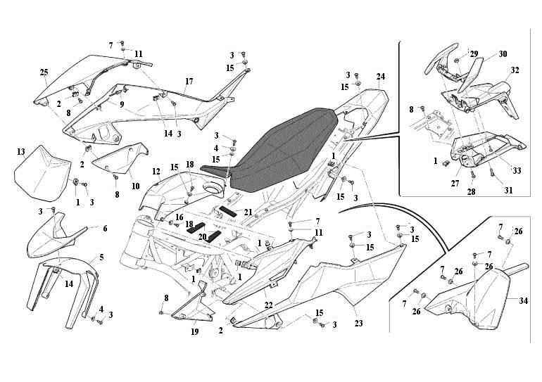 honda cr 125 motorcycle diagrams