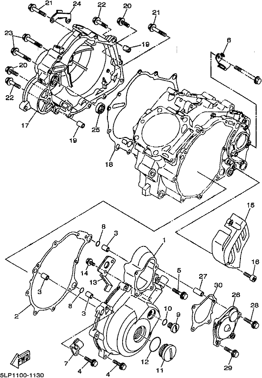 First Class Motorcycles - Yfm660r  Raptor 660  2001