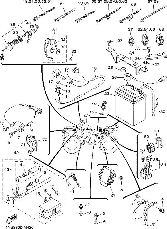 Sx 350 Warrior Wiring Diagram
