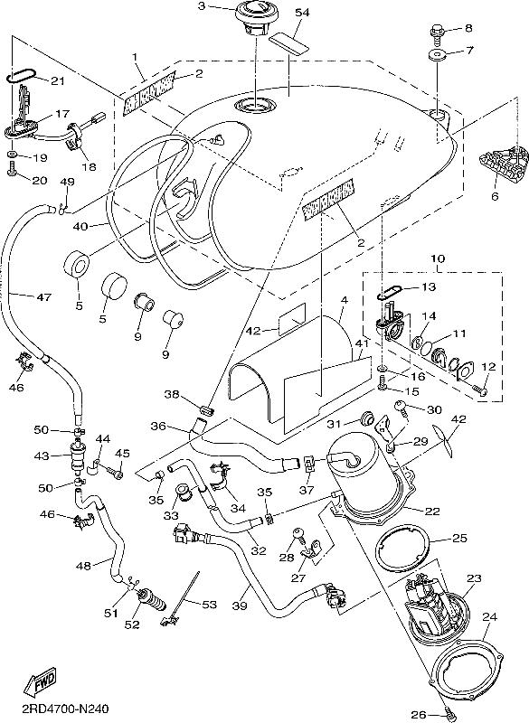 Grizzly 700 Fuel Diagram