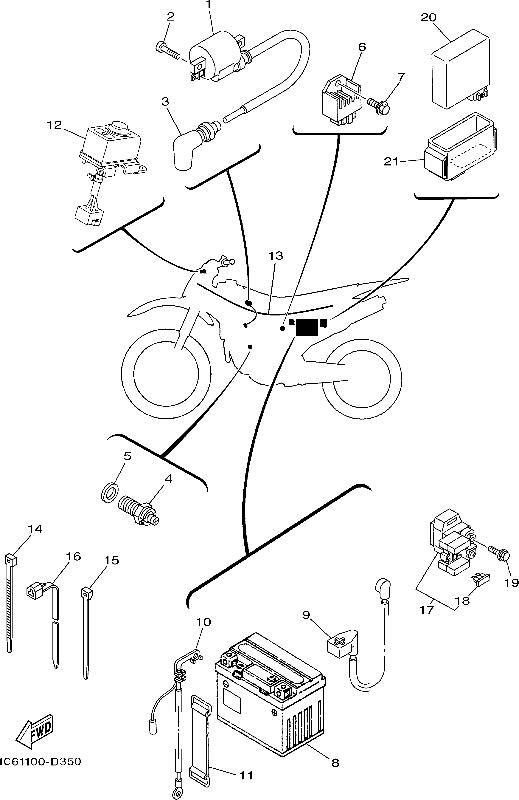 Pit Bike Wiring Diagram 125