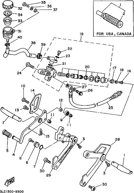First Class Motorcycles - Tz250 T250 1989
