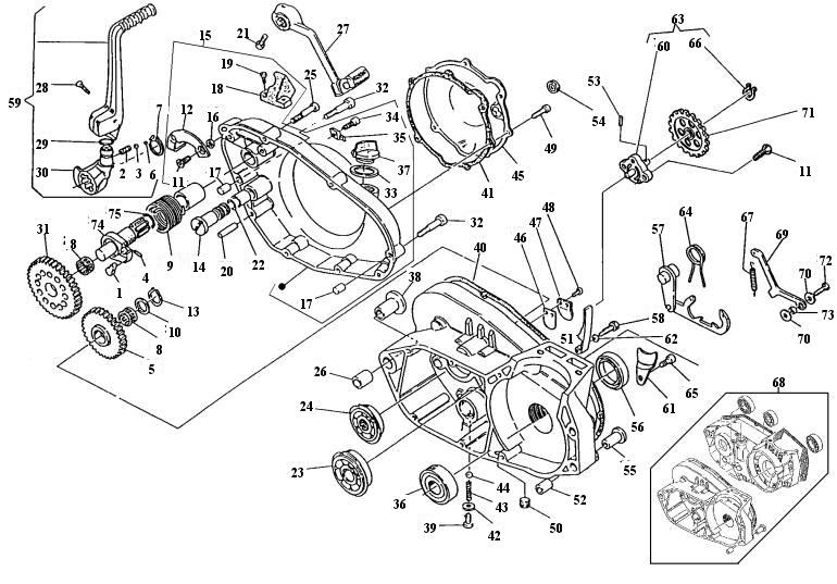 Husqvarna Engine Diagram